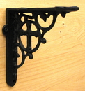 IWGAC 0184J-0697 Cast Iron Cross Bracket Set of 2