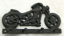 IWGAC 0184J-0905 Cast Iron Motorcycle Key/ Hat/Coat Hook