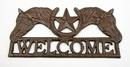 IWGAC 0184J-1001 Horse Star Welcome Cast Iron