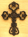 IWGAC 0184J-106B Medium Cast Iron Scroll Cross