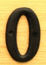 IWGAC 0184J-13021-0 Solid Cast Iron Number 0