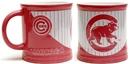 IWGAC 0193-635401 MLB Chicago Cubs Pink Stripe Mug 15oz