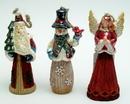 IWGAC 0197-244954 Set of 3 Ornaments Angel, Santa, Snowman