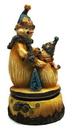 IWGAC 0197-338656 Wind-up Musical Snowman with Friend