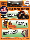 IWGAC 0198-552599 All About Construction-Building-Lumberjacks DVD w Collectible Toy