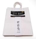 IWGAC 0199-85468 Gift Bag White Pack5