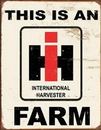 IWGAC 034-1279 Tin Sign - IH Farm