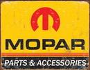 IWGAC 034-1315 Tin Sign Mopar Logo '64 - '71