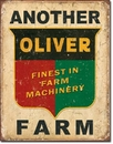 IWGAC 034-1775 TIN SIGN Another Oliver Farm