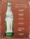 IWGAC 034-1952 Tin Sign Coke - Script Heritage