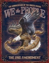IWGAC 034-1992 Tin Sign We The People - 2nd Amendment