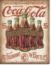 IWGAC 034-2091 Coke - 5 Bottles Retro