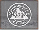 IWGAC 034-2181 COORS LIGHT Born in the Rockies