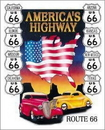 IWGAC 034-605 Tin Sign America's Highway