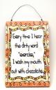IWGAC 049-10581 Chocolate Plaque, Everytime