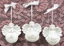 IWGAC 049-15222 Angel Ornament Set of 3