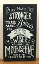 IWGAC 049-15873 Wood Moonshine Wall Box