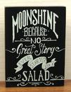 IWGAC 049-15874 Wood Moonshine Sign