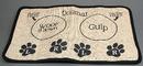 IWGAC 049-15971 Burlap Dog Placemat