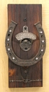 IWGAC 049-16173 Wall Mount Horseshoe Bottle Opener