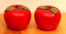 IWGAC 049-16175 Ceramic Apple S & P Set