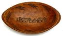 IWGAC 049-29301 Wood-look Decorative Oval Bowl 'God's Masterpiece'