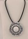 IWGAC 049-40348 Silver Tone Pendant Necklace