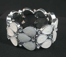 IWGAC 049-40439 White Stretch Bracelet