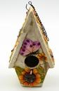 IWGAC 049-62545B Stoneware Butterfly Birdhouse