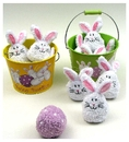 IWGAC 049-64906 Bowling Bunnies 2 assorted priced each