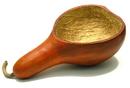 IWGAC 049-79608B Gourd Candy Dish - Sienna