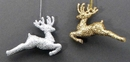 IWGAC 049-91426 Reindeer Ornaments set of 2