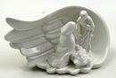 IWGAC 049-91550 Ceramic Nativity in Wing