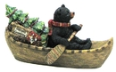 IWGAC 049-93205 Holiday Bear in Boat