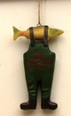 IWGAC 049-97381 Resin Fishing Boot Ornament