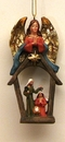 IWGAC 049-97392 Resin Angel Nativity Ornament