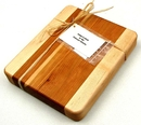 IWGAC 077-ECFM120 Edge grain Cherry & Maple Chopping Block
