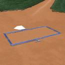 Jaypro BBTMSB Batter's Box Template – Softball 3×7