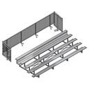 Jaypro BLCH5CUE21 Universal Enclosure (5 Row – 21