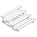 Jaypro 4 Row 7-1/2 Ft Alum T&Amp; R Double Ft Plank