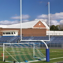 Jaypro FBGP-620 Steel Football Goal Post (Semi/Perm – 5