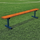Jaypro 7-1/2' Perm Powder Coated Players Bench