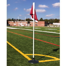Rubber Base Corner Flags (Set Of 4)