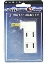 3 Outlet Wall Adaptor