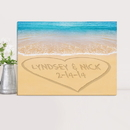 JDS CA0055 Personalized Couples Canvas Prints