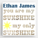 JDS CA0120 Personalized Kids Canvas Sign Sunshine