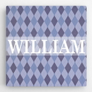 JDS CA0122 Personalized Pattern Kids Canvas Sign