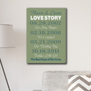 JDS CA0154 Best Days of Our Lives Canvas Print