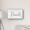 JDS CA0179 Personalized Last Name Modern Farmhouse 14' x 24