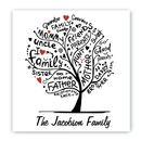JDS CA040 Family Roots Canvas Sign